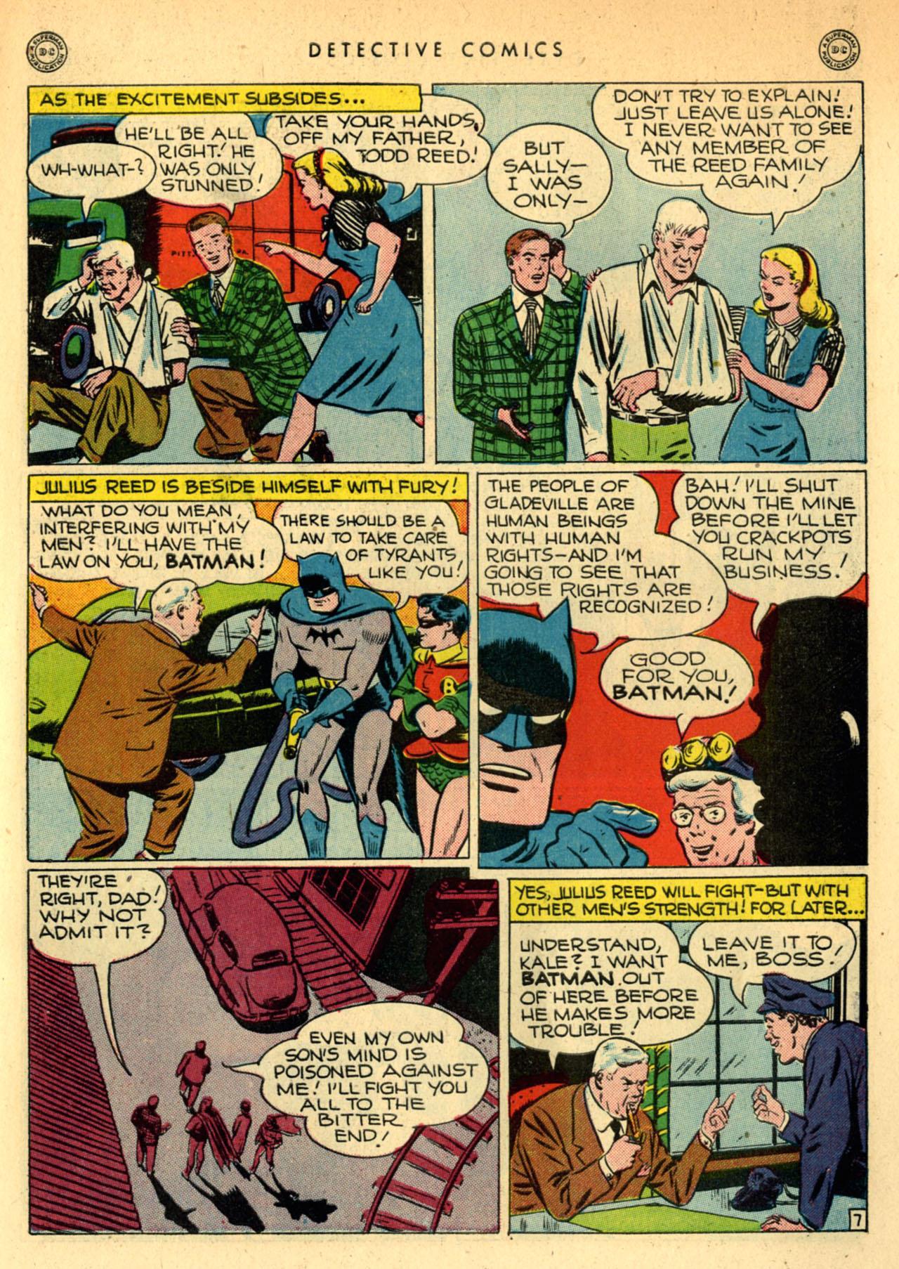 Read online Detective Comics (1937) comic -  Issue #111 - 9