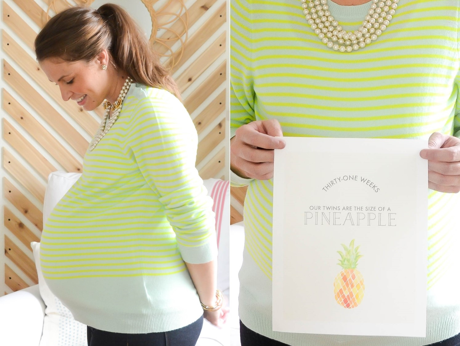IRON & TWINE: 31 Weeks Pregnant