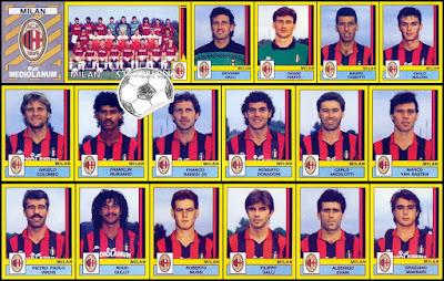 Figurine Calciatori Panini Milan 1988/89