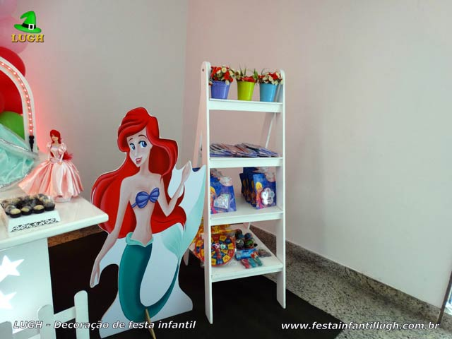 Decoração de festa tema Ariel - Aniversário infantil