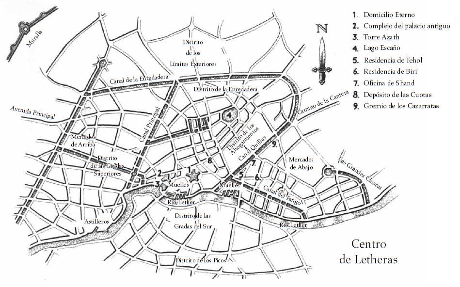 Centro de Letheras - Mareas de Medianoche