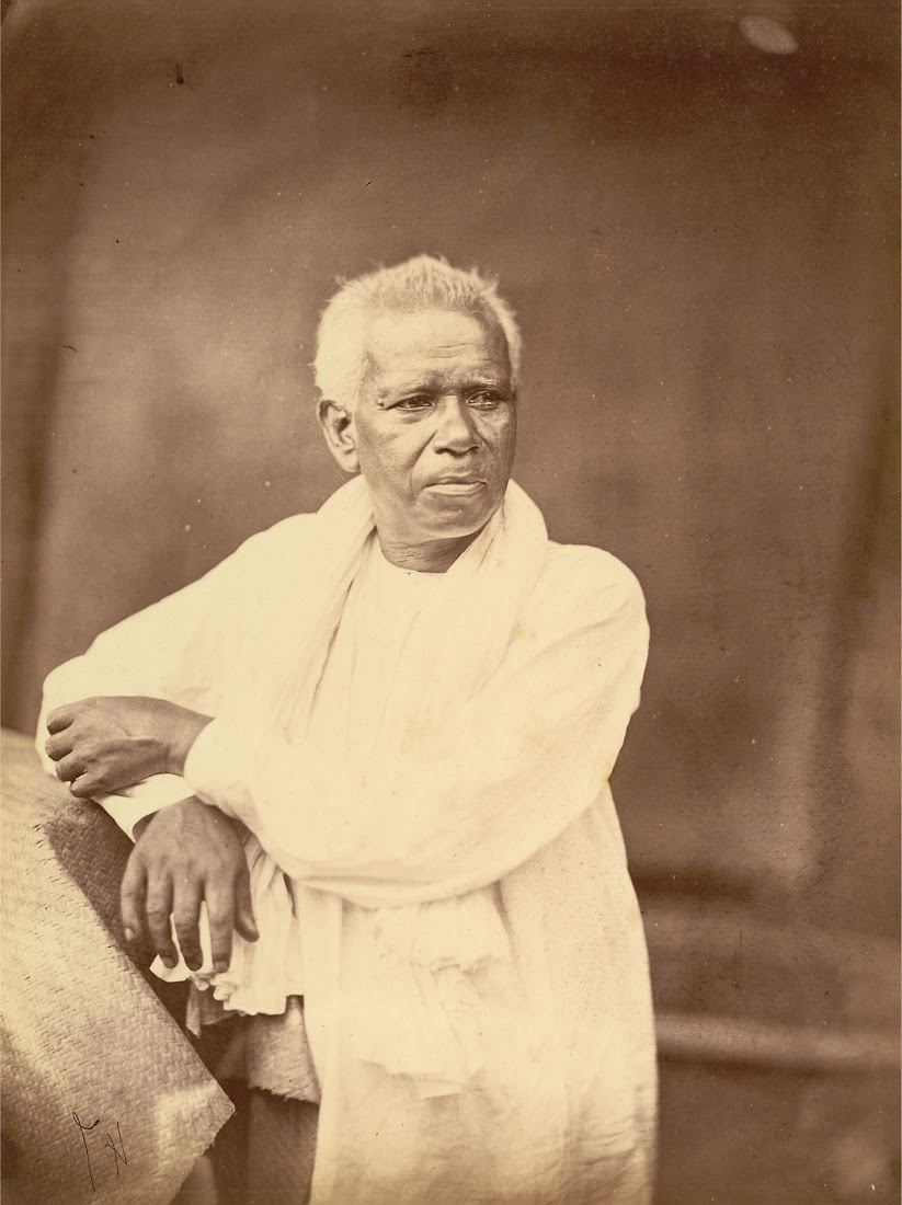 Portrait of a Man Benloging to Kayasth Caste (Hindu Writer Caste) - Eastern Bengal 1860's