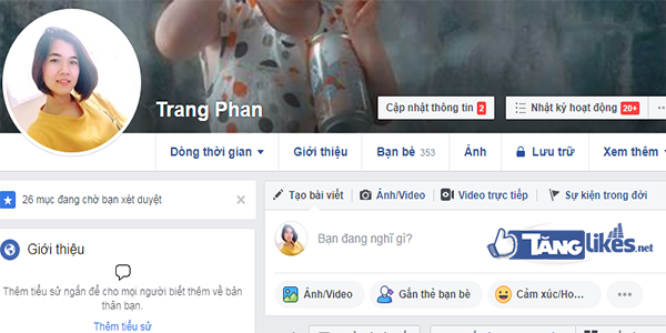 an danh sach ban be facebook