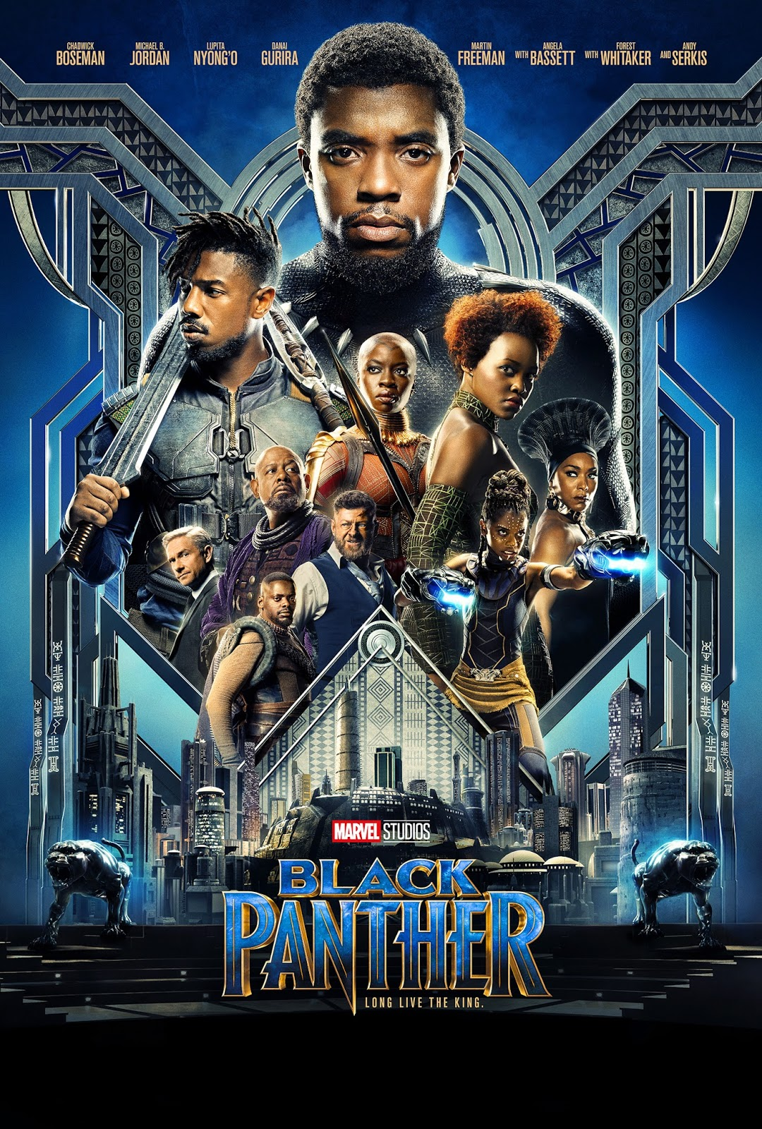 Black Panther [2018] [DVDR] [NTSC] [CUSTOM BD] [Latino 5.1]
