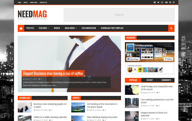 NeedMag-Responsive-Blogger-Template
