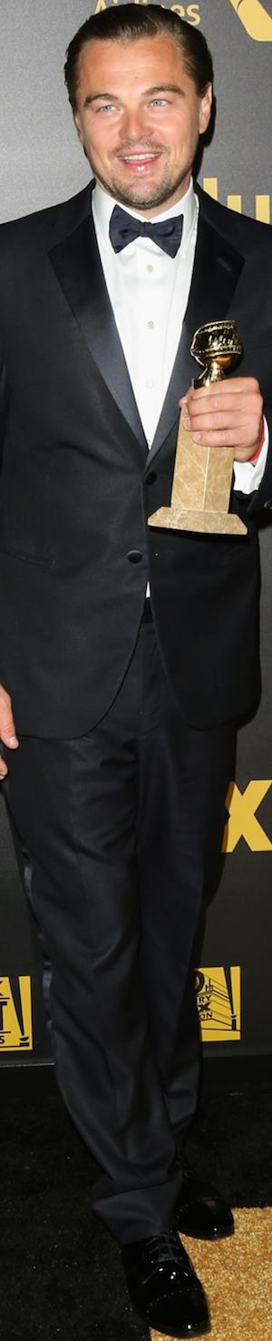 Leonardo DiCaprio 2016 Golden Globes