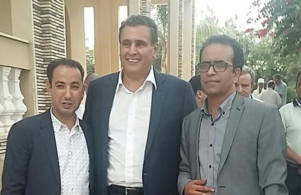 بالصورة ...akhnouch - حاميد البهجة ومولاي عبد الرحمن بليلا البرلماني عن تارودانت الشمالية -ارشيف الجريدة 24