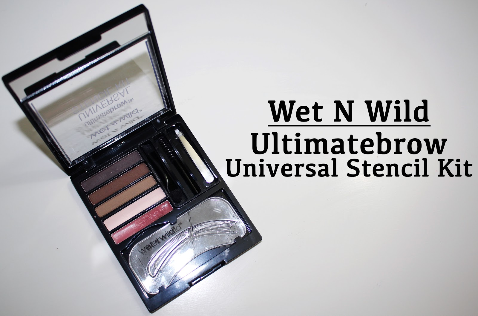 Wet N Wild Eyebrow Kit Image Collections Eye Makeup Ideas For Blue Ultimate Brow Ash Brown Universal Stencil Review