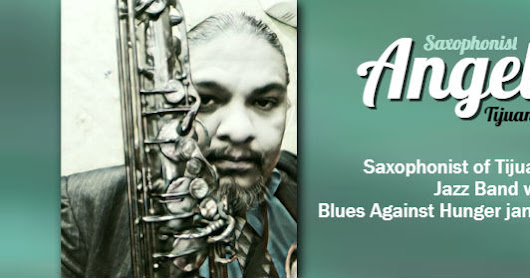 Angel Sax Join the Blues Against Hunger Jamboree! This Sunday from 2-5PM