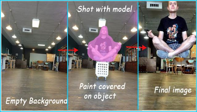 Cara buat Foto Levitasi menggunakan handphone Android