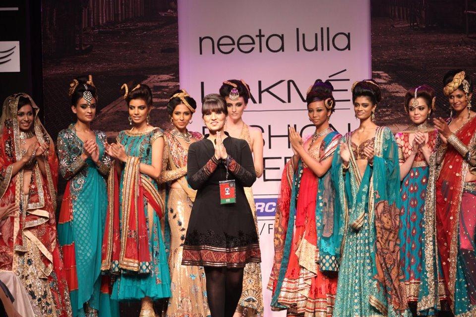 Fashion Metropolitan Indian Wedding Sarees By Indian Designer Neeta Lulla