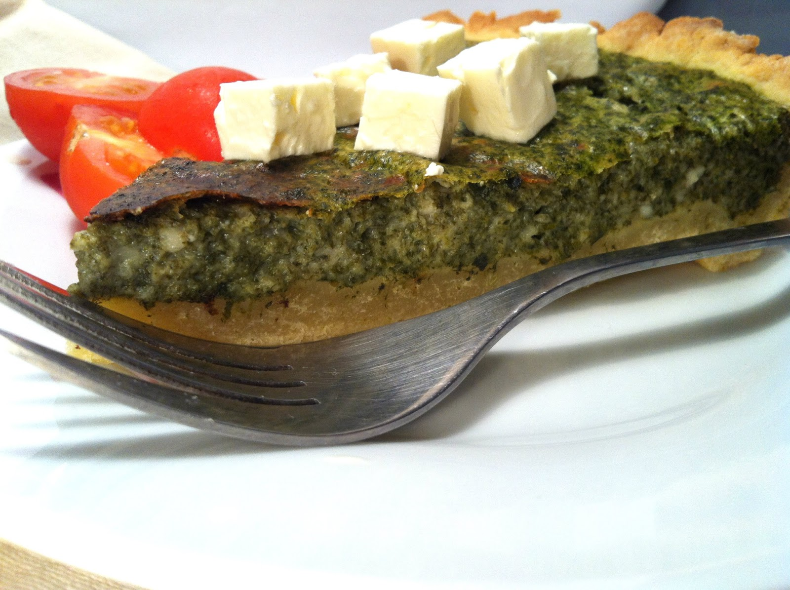 spinach and cottage cheese pie