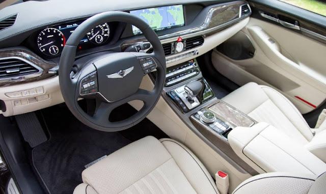 2017 Hyundai  Genesis G90 first drive interior