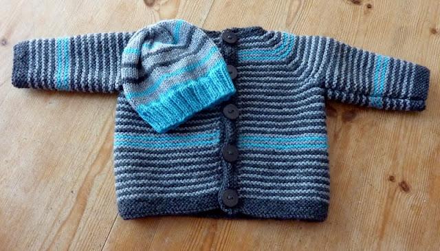 Babyjacke Raglan Stricken Desleutelbenjezelf Blog
