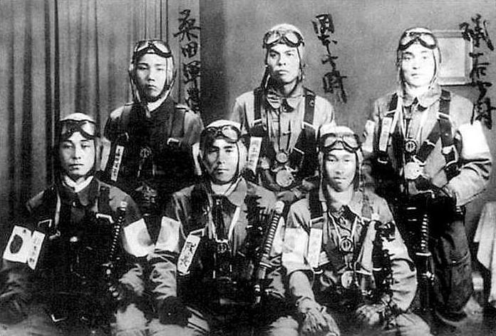 Os Kamikazes Japoneses