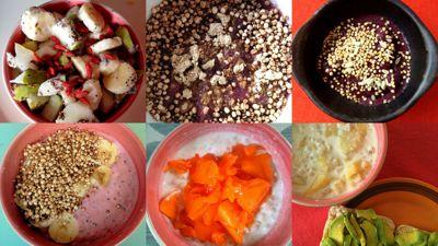 ejemplos de desayunos sin gluten ni lacteos