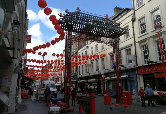 London 2017 - Chinatown