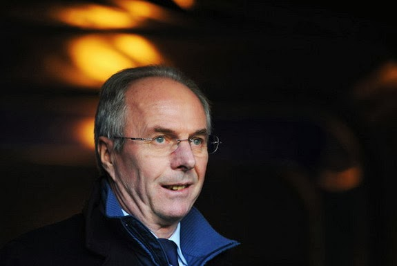 One of Sven-Göran Eriksson's unfulfilled dreams is managing Liverpool
