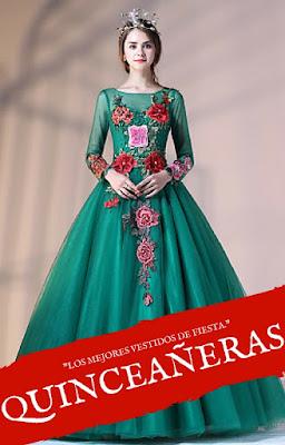 patrones para vestidos de xv años