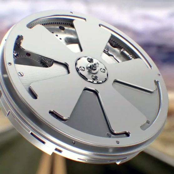 singer - Singer Reimagined — Quando um cronografo é um relógio Agengraphe-rotor
