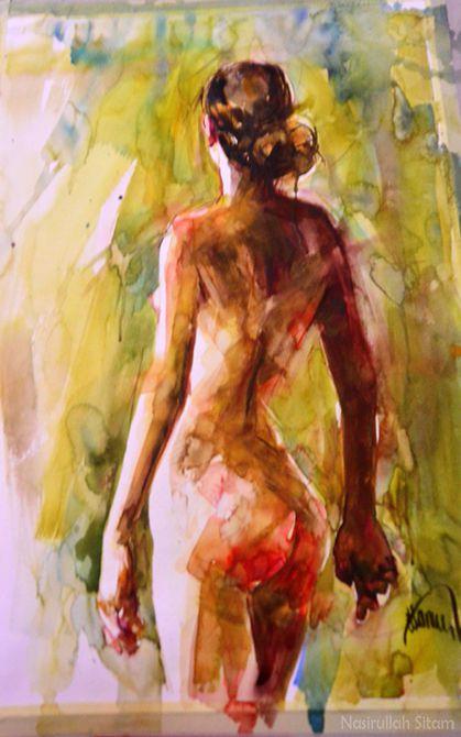 Lukisan lainnya saat pameran