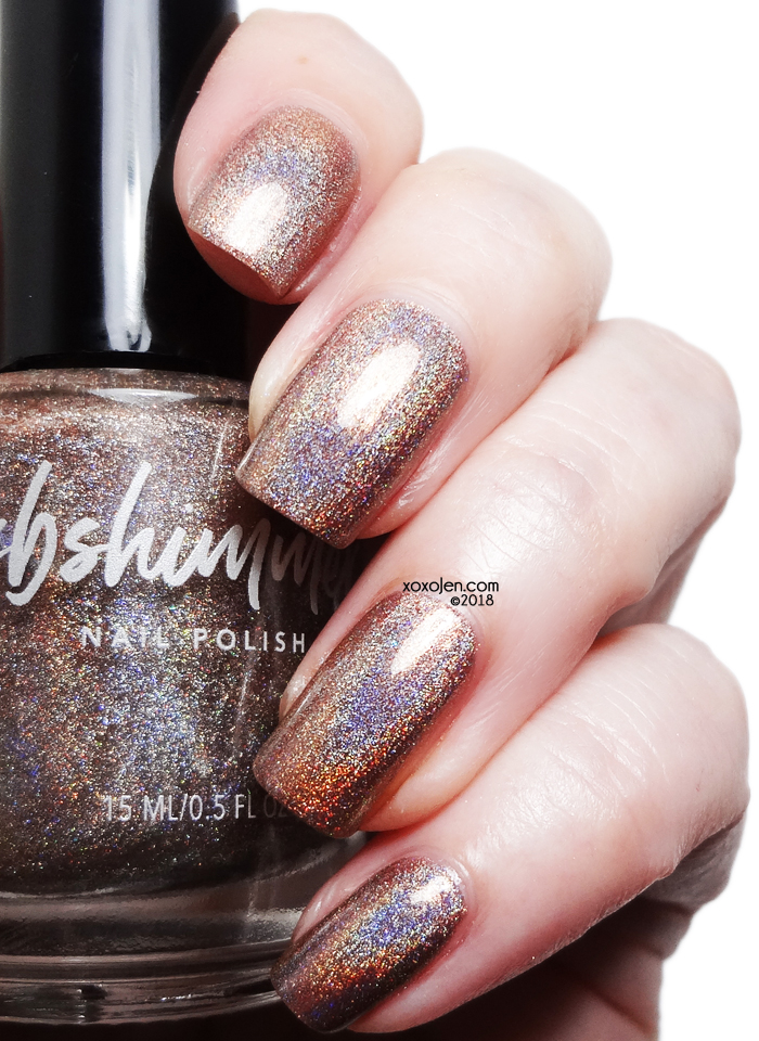xoxoJen's swatch of KBShimmer Rise and Grind