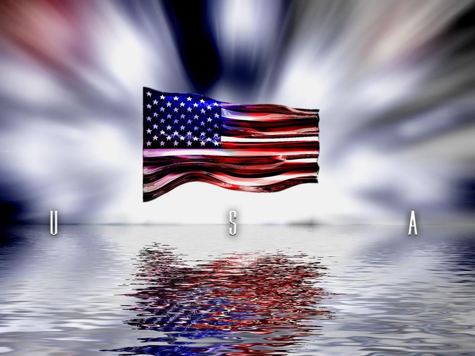 Graafix!: American Flag Wallpapers