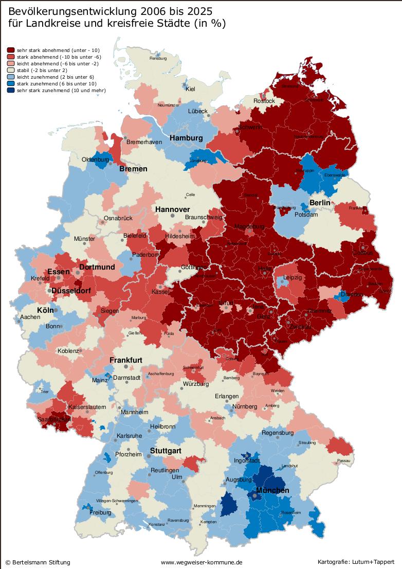 No Go Areas Deutschland Karte