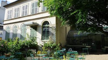 Patio y jardín de 'Le Musée de la Vie romantique' en París