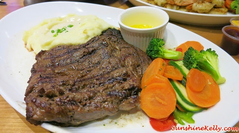 Bone-In Rib Eye Steak, Fuddruckers Malaysia, American Casual Dining, Fuddruckers Lot10, Fuddrucker, American Food