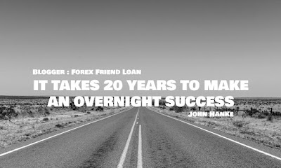 IT TAKES 20 YEARS TO MAKE AN OVERNIGHT SUCCESS, John Hanke, Motivational Quote, Forex Quote