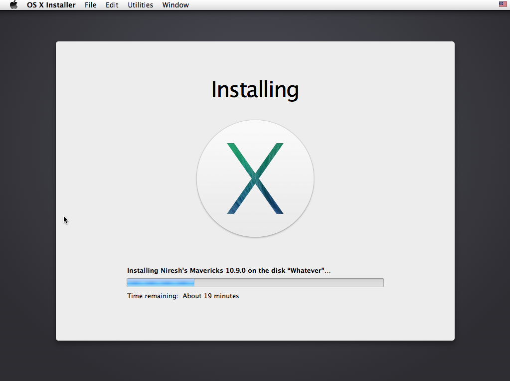 download niresh mac os x mavericks 10.9