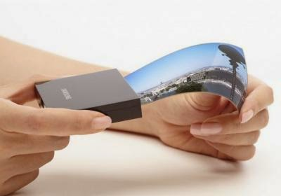 Layar OLED Fleksibel / lentur