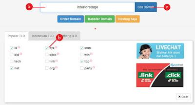Cara Setting Custom Domain Pada Blogger