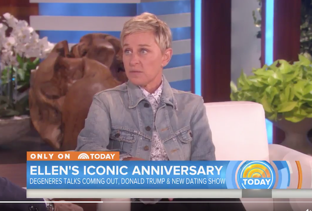 ELLEN DEGENERES SAYS SHE DOESN'T HAVE SPACE FOR TRUMP ON HER SHOW