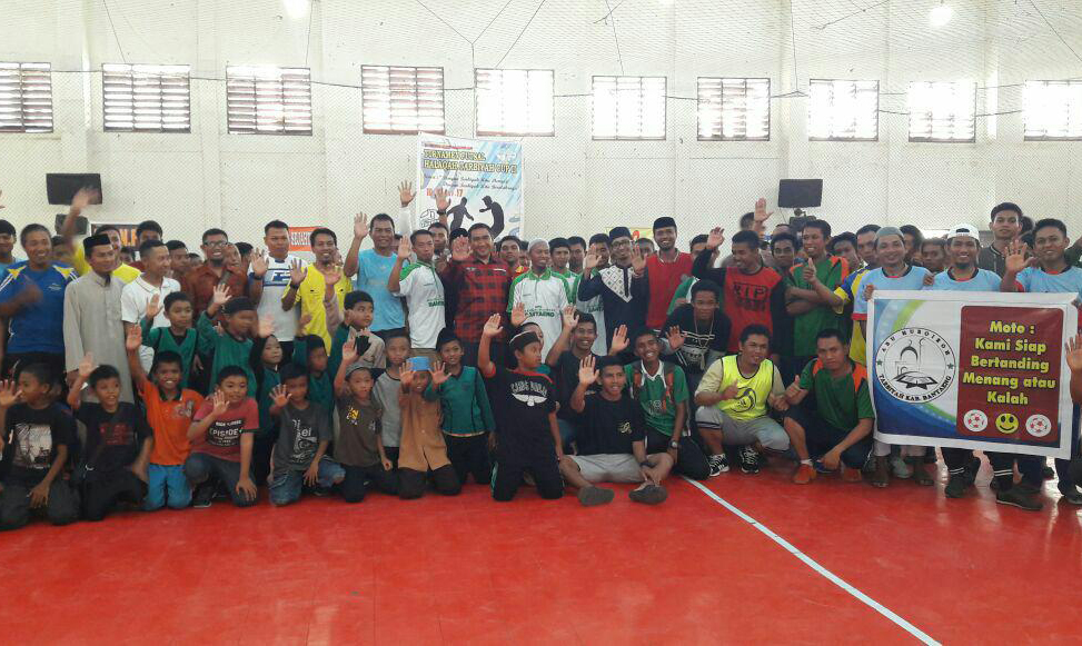 SBY Buka Turnamen Futsal Halaqah Tarbiyah Cup II
