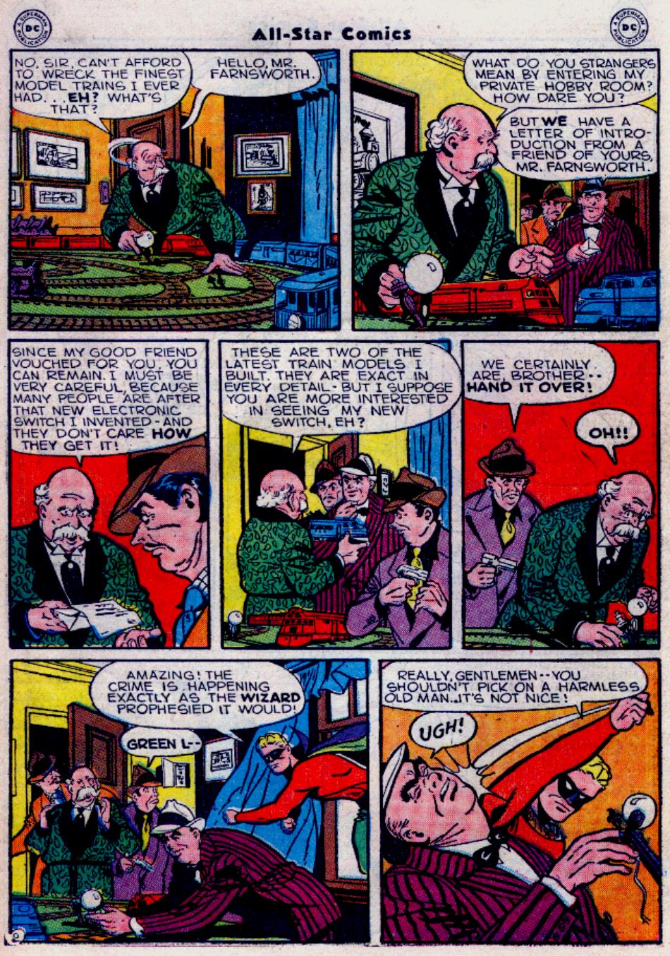 Read online All-Star Comics comic -  Issue #34 - 39