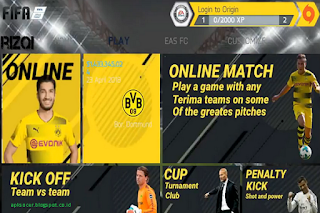 Download Fifa 14 Mod Special Black & Yellow By Rizqi Apk Data + Obb 1