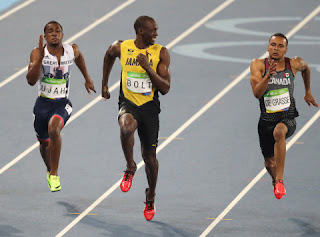 Watch world's fastest man Usain Bolt dominate Olympic 100 meters
