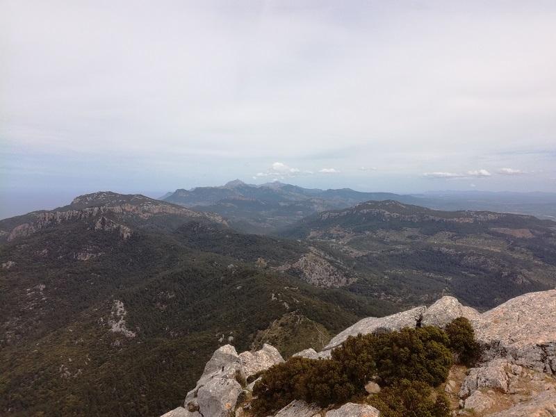 Vista dal Puig de Galatzó