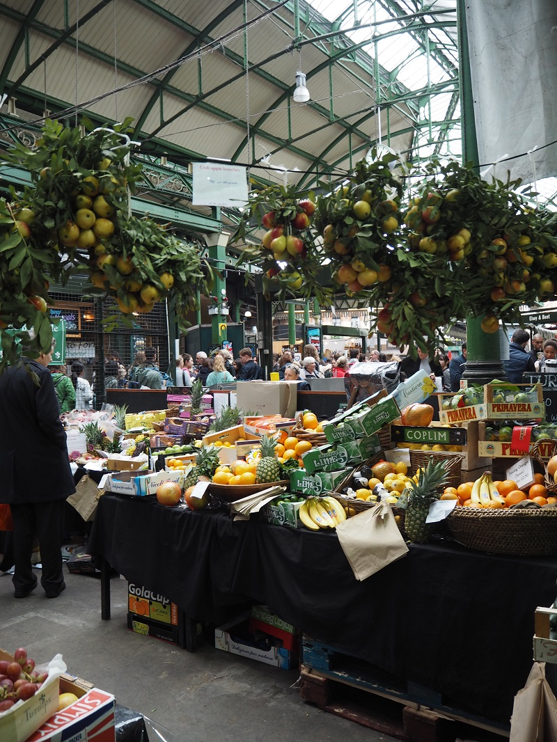 fruit and veg at Borough Market London