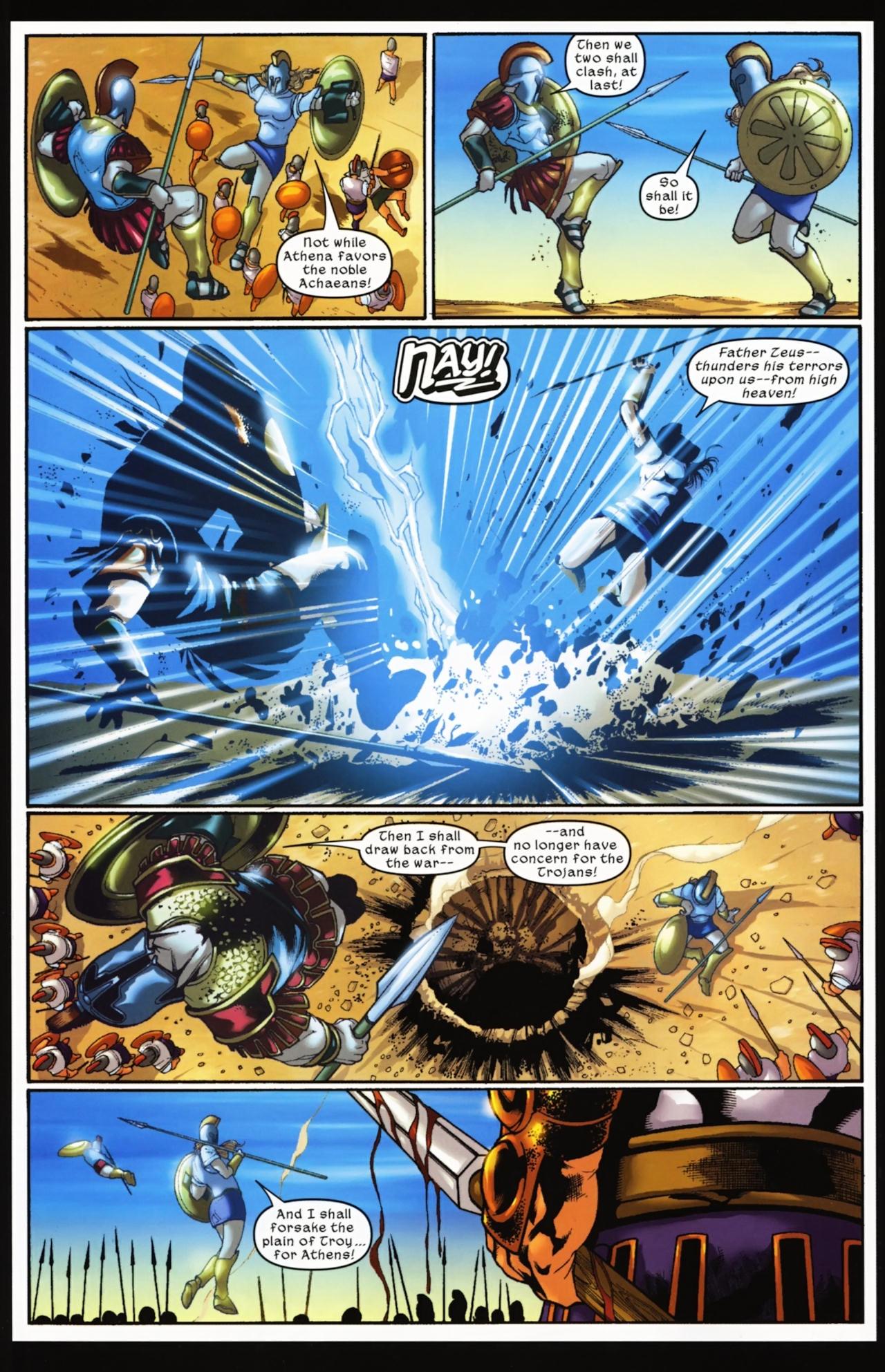 Read online Trojan War comic -  Issue #4 - 25