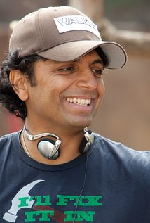 M. Night Shyamalan. Director of The Village