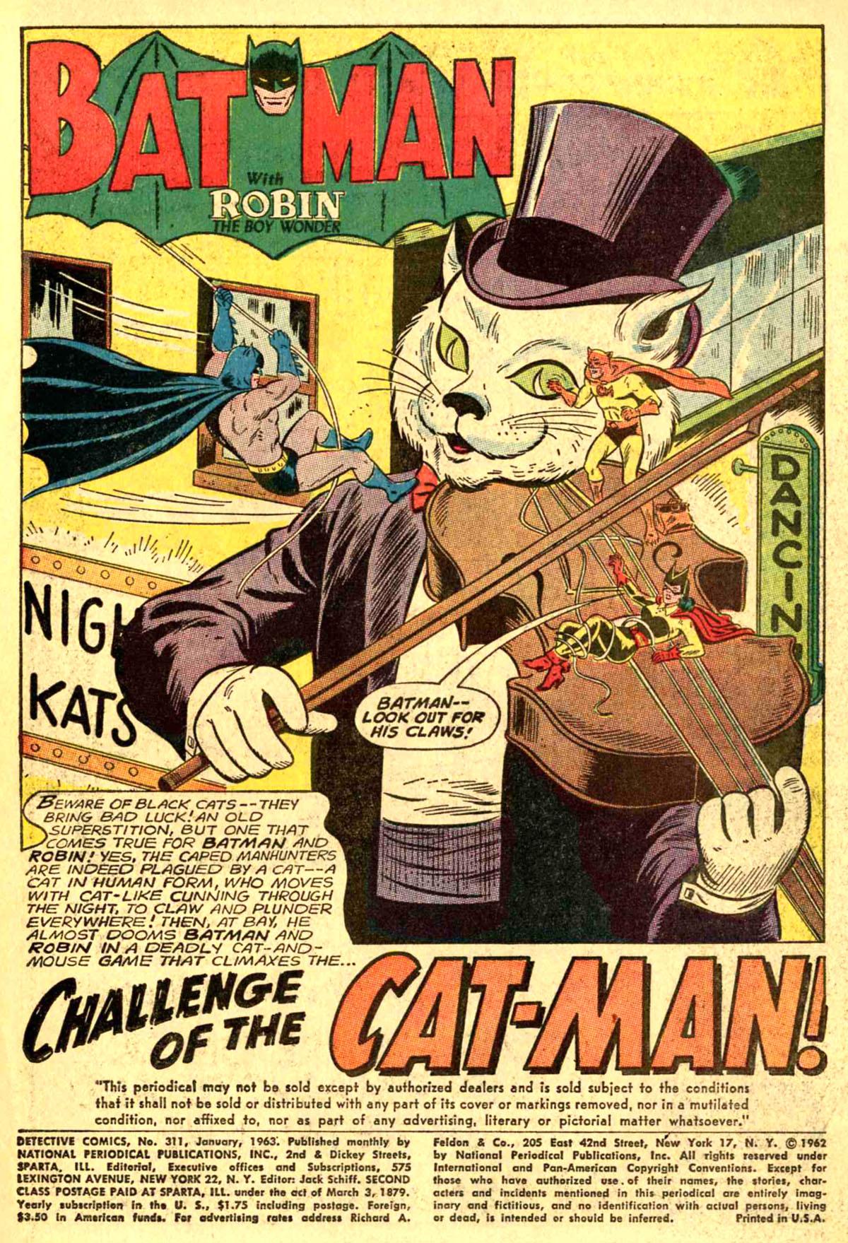 Detective Comics (1937) 311 Page 2