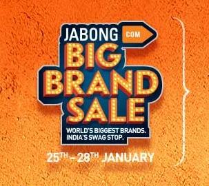 Jabong Big brand Sale
