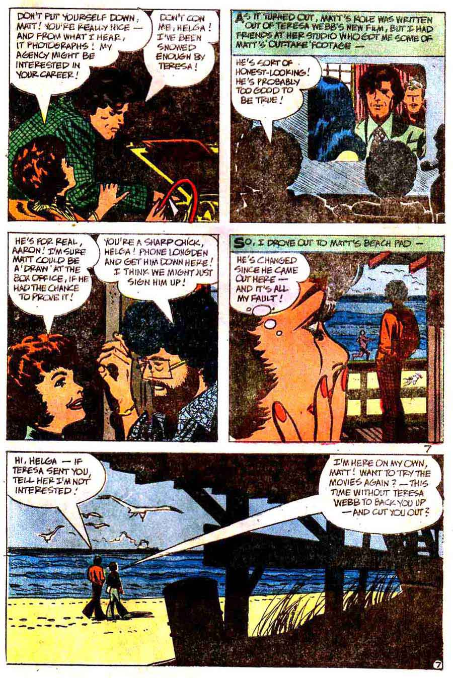 My Only Love v1 #3 chalrton romance comic book page art by Alex Toth