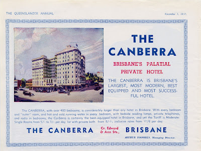 The Canberra Brisbane's Palatial Private Hotel