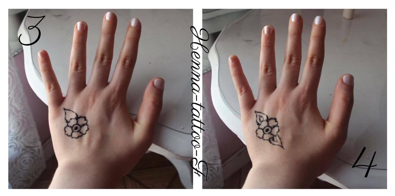 Henna Tattoo By F Tutoriel Tatouage Henne Motif Facile