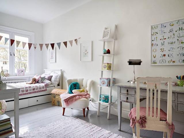 decoracion escandinava habitacion infantil