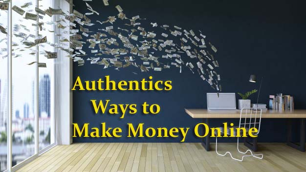 authentic ways to earn money online